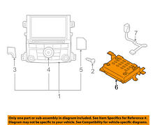 SUBARU OEM 12-14 Legacy GPS Navigation System-Amplifier 86221AJ21A