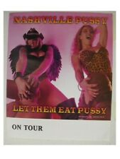 Nashville Pussy Promo Poster Let Them Eat Heads in be