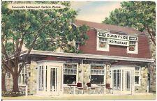 Sunnyside Restaurant in Carlisle PA Postcard