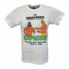 Hulk Hogan Macho Man Randy Savage Mega Powers Wrestlemania 5 Mens T-shirt