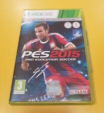 Pro Evolution Soccer PES 2015 GIOCO XBOX 360 VERSIONE ITALIANA