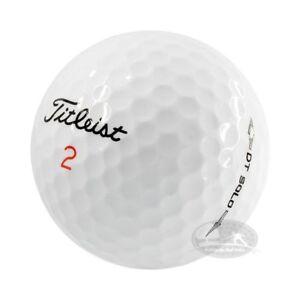 100 Titleist Dt Solo/ Trusoft palline da golf usate Cat. 4/ 5 Stelle(AAA/PEARL)