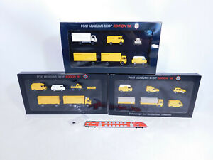 CR33-1 #3x wiking H0 / 1:87 Set Post Museums Shop Edition: 1996+1997+1998 Mint