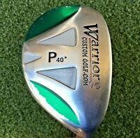 """Warrior Golf P Hybrid 40* RH / Tour 3.1 Stiff Graphite ~35.5"""" / New Grip /mm9346"""