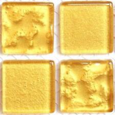 49 paillettes tuiles de Mosaïque 20mm - Doré trésor