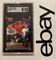 Michael Jordan SGC 8.5 Fleer Ultra Last Dance INSERT Chicago Bulls 1992 NR #4