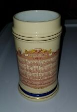 1901 Fred Sehring Brewery Joliet IL Calendar Stein Mug Thuemler  Pre Prohibition