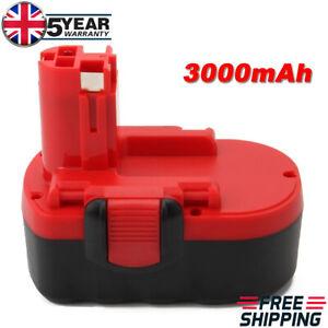 18V 3.0Ah For Bosch PSR18 GSR18 2607335536 2607335535 2607335277 BAT025 BAT026