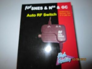 4 NEW RF SWITCHS- FITS N64, GAMECUBE AND SNES SYSTEMS