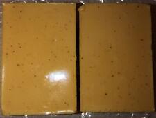 Handmade Tumeric Soap Bar.  2 Turmeric Soaps