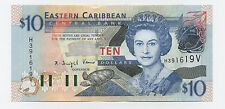New listing East Caribbean 10 Dollars Nd 2003 Pick 43.v Unc Uncirculated Banknote