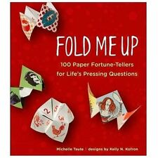 Fold Me Up 100 Paper Fortune Teller for Lifes Pressing Questions Cootie Catcher