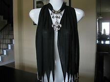 Fashion Jewelry Scarf w Jewelry Decoration Fleur De Lis Necklace Pendant