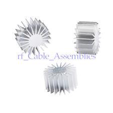 30pcs 1/3W Watt LED Extrusion Aluminum Heat sink Round radiator 20mm OD New Hot