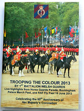 REGION 2 (EUROPE) - TROOPING THE COLOUR 2013 - 1ST BATTALION WELSH GUARDS DVD