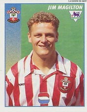 N°421 JIM MAGILTON SOUTHAMPTON.FC STICKER MERLIN PREMIER LEAGUE 1997