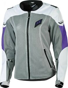 2019 Fly Racing Womens Flux Air Mesh Street Motorcycle Jacket -Pick Size & Color