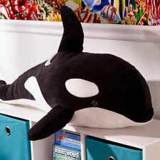 Orca Wal Kuscheltier 100 cm Plüschtier XXL Riesen Stofftier Plüsch Schwertwal