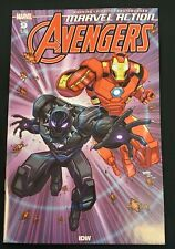 Marvel Action Avengers #9 First Yellow Hulk Cameo Appearance IDW Marvel
