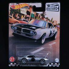Hot Wheels Boulevard Custom 67 Pontiac Firebird Silver 2021 No 27 Grl98