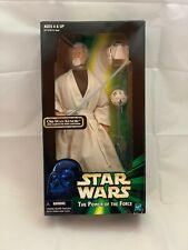 "Star Wars Obi-Wan Kenobi Hasbro Action Collection 1999 12"" Action Figure"