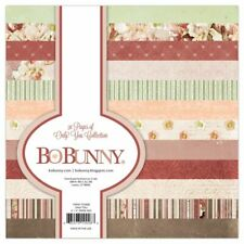 "BO BUNNY Only You 6x6 Paper Pad*6""x6"" Scrapbook Paper Papercrafts DIY"