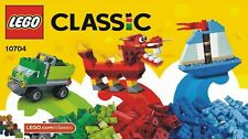 1 NEUES Lego-Classic Ideenbuch / Bauanleitung  (10704)
