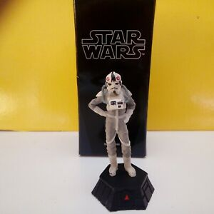 Star Wars DeAgostini At-At Pilot Pedone Nero 1/24 Figure