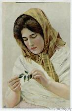 Illustratore Donnina PC Circa 1905