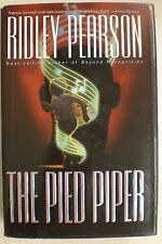 THE PIED PIPER Ridley Pearson stated 1st Edition 1998 Mystery Hardcover & Jacket