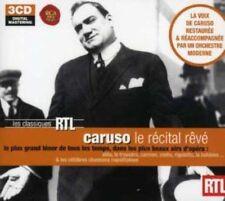 Caruso - Le Récital Rêve (The Dream Recital) 3 Audio CDs digitally remastered