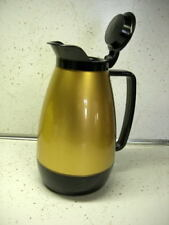 Vintage Thermo-Serv Insulated Coffee Server Black and Gold ~ Never Used