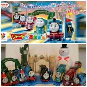 Thomas & Friends Connor Caitlin Gordon Hiro Snowman Tomy Mini Windup Rail Oigawa