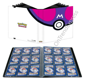 MASTER BALL POKEMON ULTRA PRO BINDER FOLDER ALBUM 9 18 POCKET HOLDS 360 CARDS