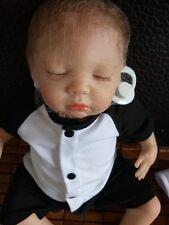 "16""Bambole Reborn Doll boy Lifelike Toys Baby Doll Newborn Vinyl bebe Reborn it"