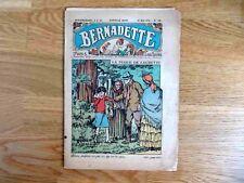 Revue heddomadaire Bernadette  N° 229 - la Fugue de Laurette -1934