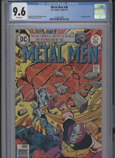 METAL MEN #49 NM 9.6 CGC ECLIPSO APP. WHITE PAGES SIMONSON COVER AND ART STORY