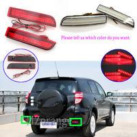 LED Rear Bumper Brake Light Stop Lamp For Toyota RAV4 2005-2013 Avensis Alphard