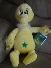 "Kohls Cares Dr Seuss 16"" Yellow Sneetch Plush Stuffed Animal Toy New"