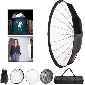 Easy Open 60-140cm Softbox Honeycomb Grid Beauty Umbrella Rapid Box Bowens S Fit