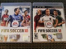 FIFA Soccer 10 & 12 PS3 (PlayStation 3 Game Lot) Frank Lampard, Jack Wilshere