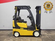 2013 Yale Glc030vx 3000lb Traction Cushion Forklift Lpg Lift Truck Hi Lo 82187