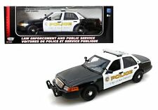 MOTOR MAX 1:18 2001 FORD CROWN VICTORIA SAN GABRIEL POLICE CAR INTERCEPTOR 73538