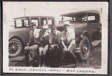 1924 BIG BEAR LAKE SEELY RADFORD LOS ANGELES CALIFORNIA CITY TRIP OLD CARS PHOTO