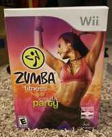 Zumba Fitness: Join The Party (Nintendo Wii, 2010) Exercise Fitness New In Box