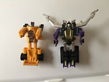 Vintage Hasbro Transformers G1 1985 Lot Shrapnel Insecticon & Dragstrip Autobot