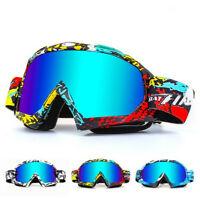 Ski Goggles Double Layers Anti-Fog Adult Winter Snowboard Skiing Glasses