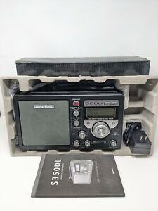 Grundig Eton S350DL Deluxe H.P. AM/FM ShortWave Field Radio