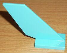 Lego City 1 Flügel, Heck vom Flugzeug in türkis