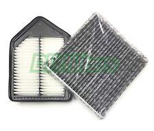 Engine & Carbonized Cabin Air Filter For Honda CRV 2010-2011 AF6119 US Seller